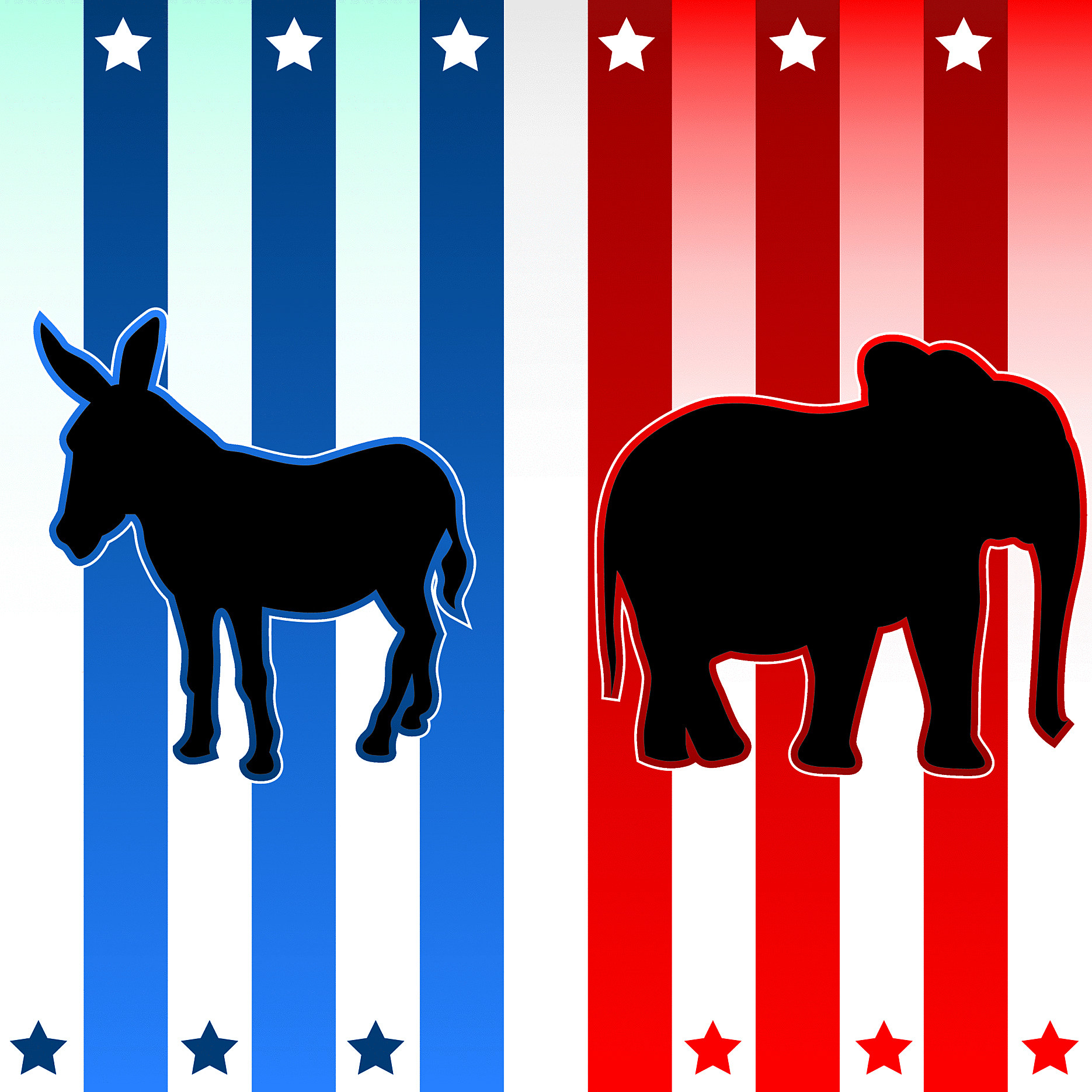 Voters Name Their Republican and Democratic Candidates