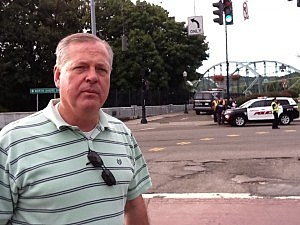 Binghamton police chief Joseph Zikuski discusses hit-and-run investigation Monday morning.