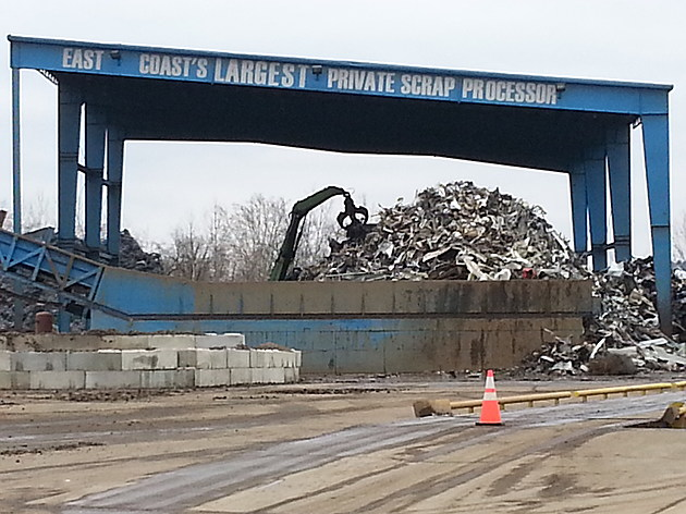 Upstate Shredding has an existing operation at an industrial park off Route 38 in the Town of Owego. [Bob Joseph/WNBF News]