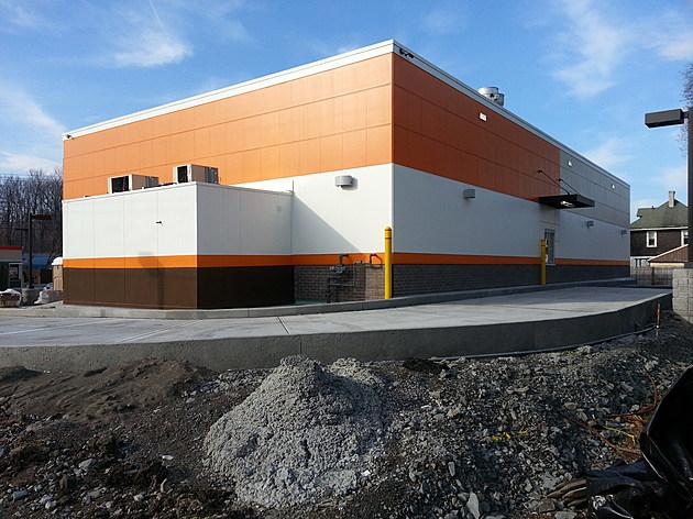 The A&W Restaurant at 439 Court Street in Binghamton will have a drive-thru window. (Bob Joseph/WNBF News)