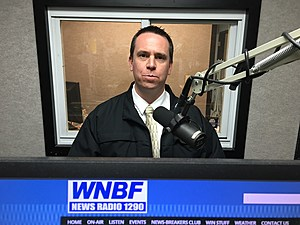 JOHNSON CITY POLICE CHIEF BRENT DODGE [Bob Joseph/WNBF News]