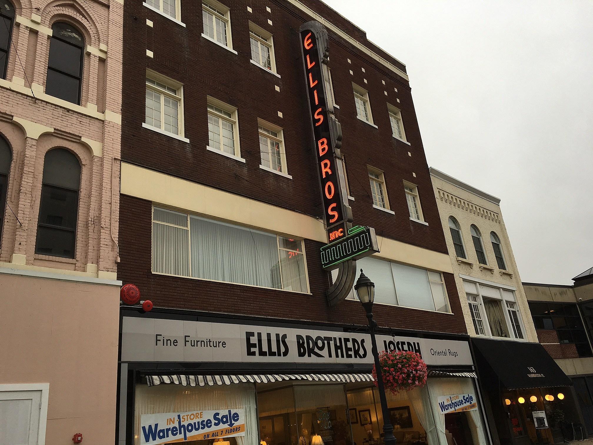 Good The Ellis Family Purchased This Building At 159 Washington Street In 1931.  [Bob Joseph