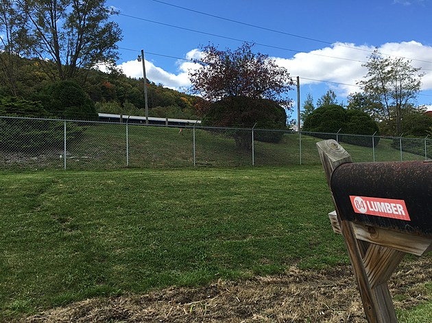 Upstate Shredding has abandoned its plan to built a metal sorting plant at this site on Route 434 in Owego. [Bob Joseph/WNBF News]