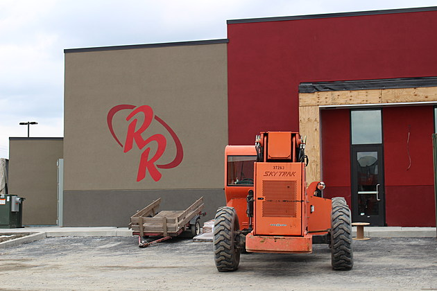 A Red Robin Gourmet Burgers restaurant will be located on the east end of the retail complex. [Bob Joseph/WNBF News]