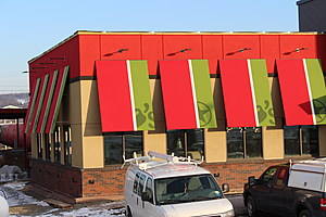 A Chili's Bar and Grill restaurant will be on the east end of the site. [Bob Joseph/WNBF News]