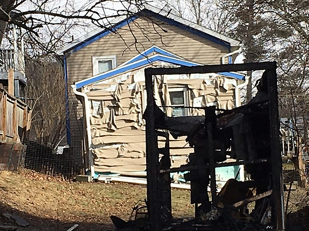 An arrest has been made in connection with a Christmas Eve fire on Spencer Avenue in Owego. [Bob Joseph/WNBF News]
