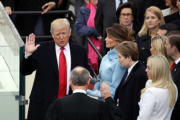 Donald Trump Is Sworn In As 45th President Of The United States