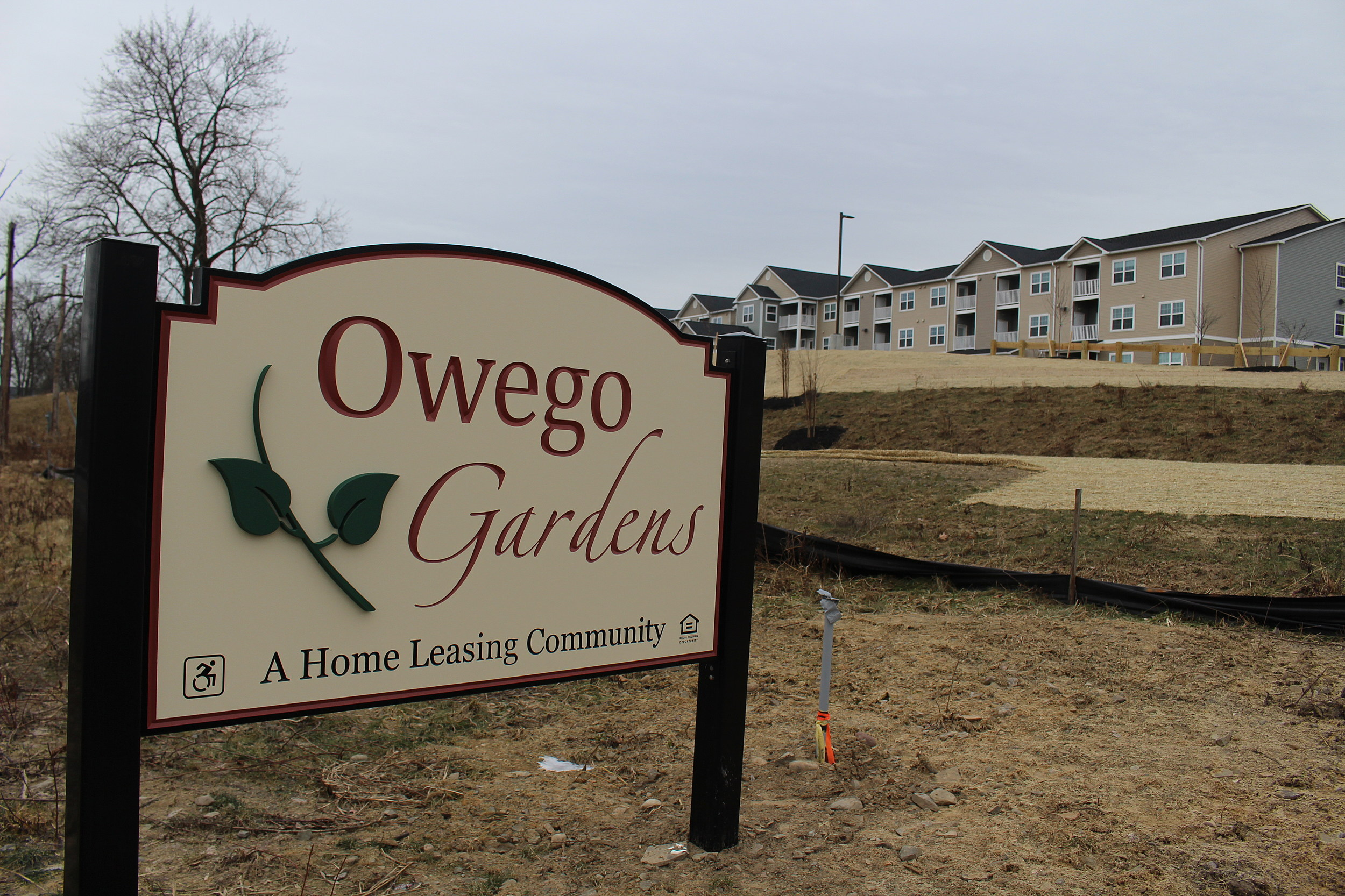 The Tioga County Apartments Are Designed For People Over The Age Of 55.  (Photo: Bob Joseph/WNBF News)