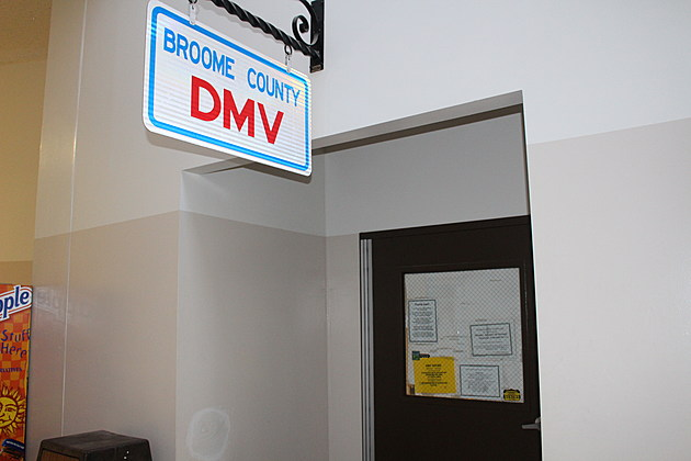 The old Endicott DMV office at 124 Washington Avenue closed on January 28, 2017. (Photo: Bob Joseph/WNBF News)