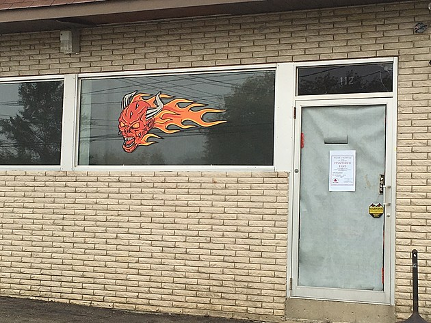 The Flesh and Blood Motorcycle Club headquarters in West Corners. (Photo: Bob Joseph/WNBF News)