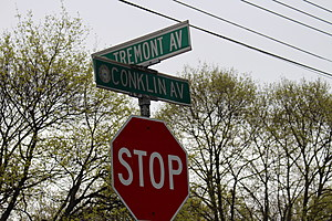 Investigators believe the assault happened near the intersection of Conklin and Tremont avenues. (Photo: Bob Joseph/WNBF News)