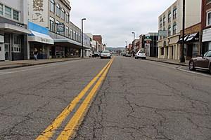 Endicott's Washington Avenue business district. (Photo: Bob Joseph/WNBF News)