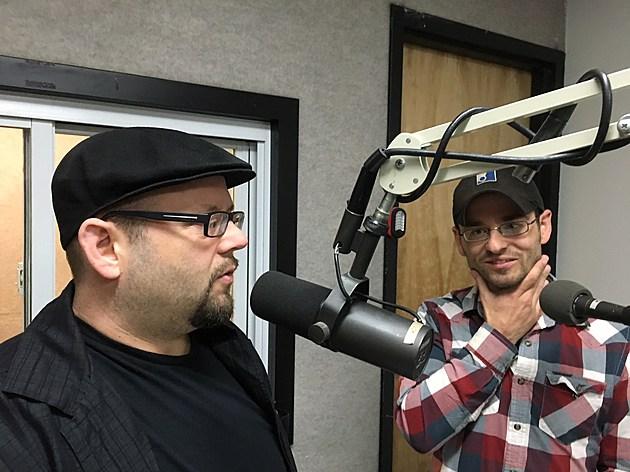 "Mason and Mick Mastroanni during their ""Binghamton Now"" appearance. (Photo: Bob Joseph/WNBF News)"