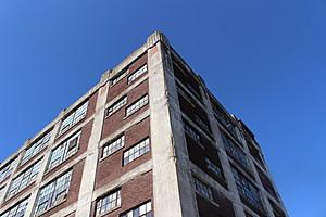 The abandoned six-story Endicott Johnson building at the corner of Corliss Avenue and Willow Street. (Photo: Bob Jospeh/WNBF News)