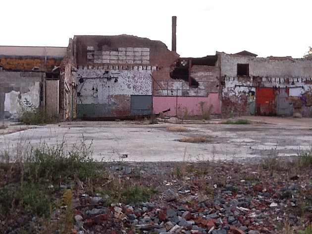 An abandoned factory site in Binghamton. (Photo: Bob Joseph)
