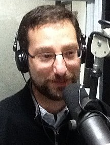 Tarik Abdelazim during a 2012 radio interview. (Photo: Bob Joseph/WNBF News)