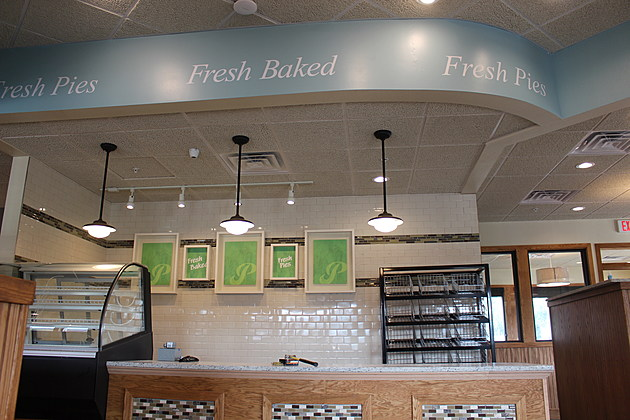 Pies and other baked goods will greet customers when they enter the new Perkins Restaurant. (Photo: Bob Joseph/WNBF News)
