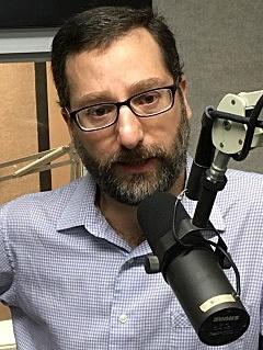 Tarik Abdelazim during a radio interview on July 17, 2017. (Photo: Bob Joseph/WNBF News)