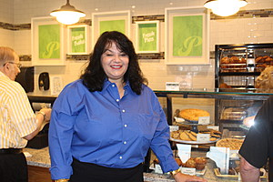Beth Ann Smith head the company that has opened the Tioga County Perkins Restaurant and Bakery. (Photo: Bob Joseph/WNBF News)