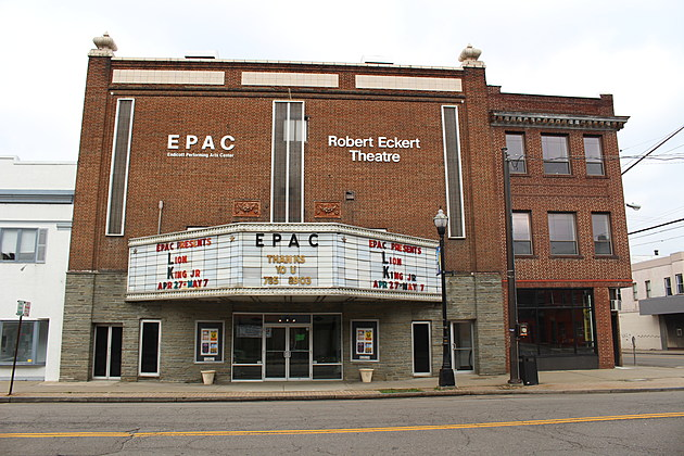 The Endicott Performing Arts Center is located in the former Lyric Theater building. (Photo: Bob Joseph/WNBF News)
