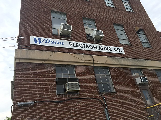 Wilson Electroplating Company is operating in the Emma Street building. (Photo: Bob Joseph/WNBF News)