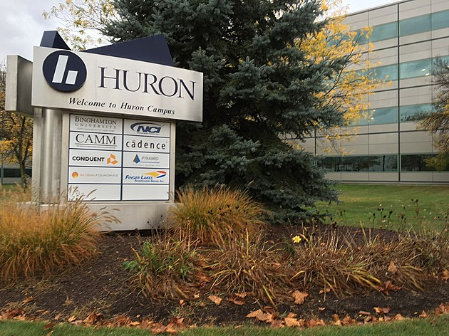 Several tenants now utilize space at the Huron Campus on Endicott's North Side. (Photo: Bob Joseph/WNBF News)