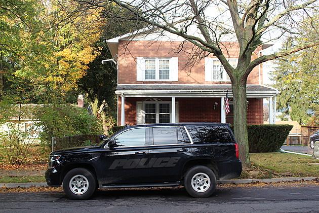 A Binghamton Police Department vehicle on Bigelow Street on October 10, 2017. (Photo: Bob Joseph/WNBF News)