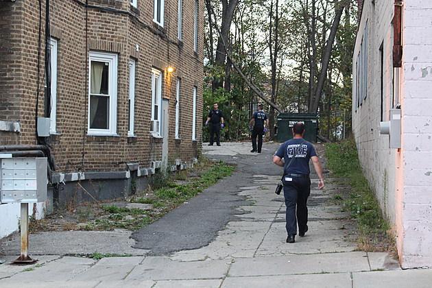 Emergency responders outside an apartment house at 15 Endicott Avenue. (Photo: Bob Joseph/WNBF News)