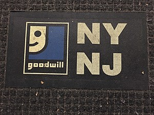 The logo of Goodwill Industries of Greater New York and New Jersey. (Photo: Bob Joseph/WNBF News)