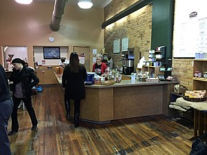 Inside the coffee house section of Laveggio Roasteria on October 17, 2017. (Photo: Bob Joseph/WNBF News)