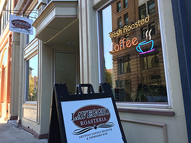 Laveggio Roasteria has been in operation at 101 Court Street for about 10 years. (Photo: Bob Joseph/WNBF News)